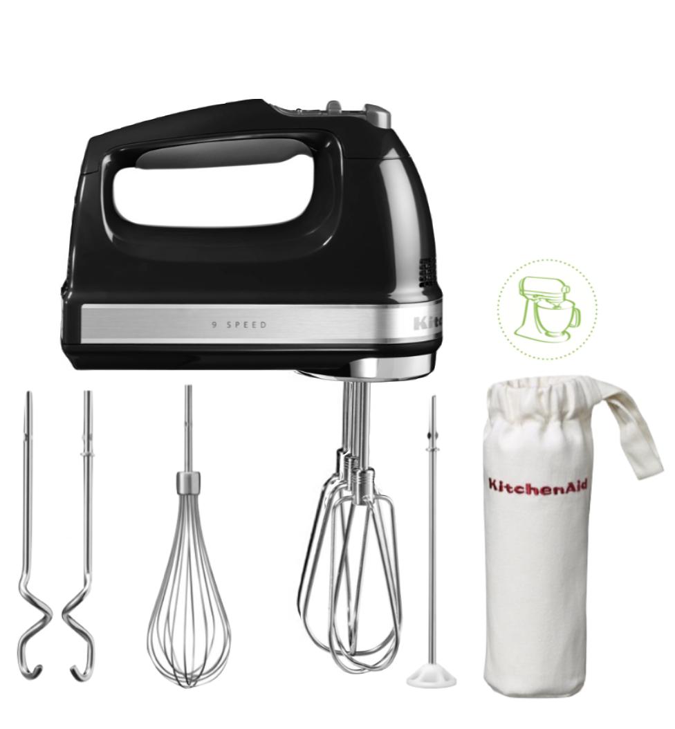 KitchenAid Handrührgerät Onyx Schwarz