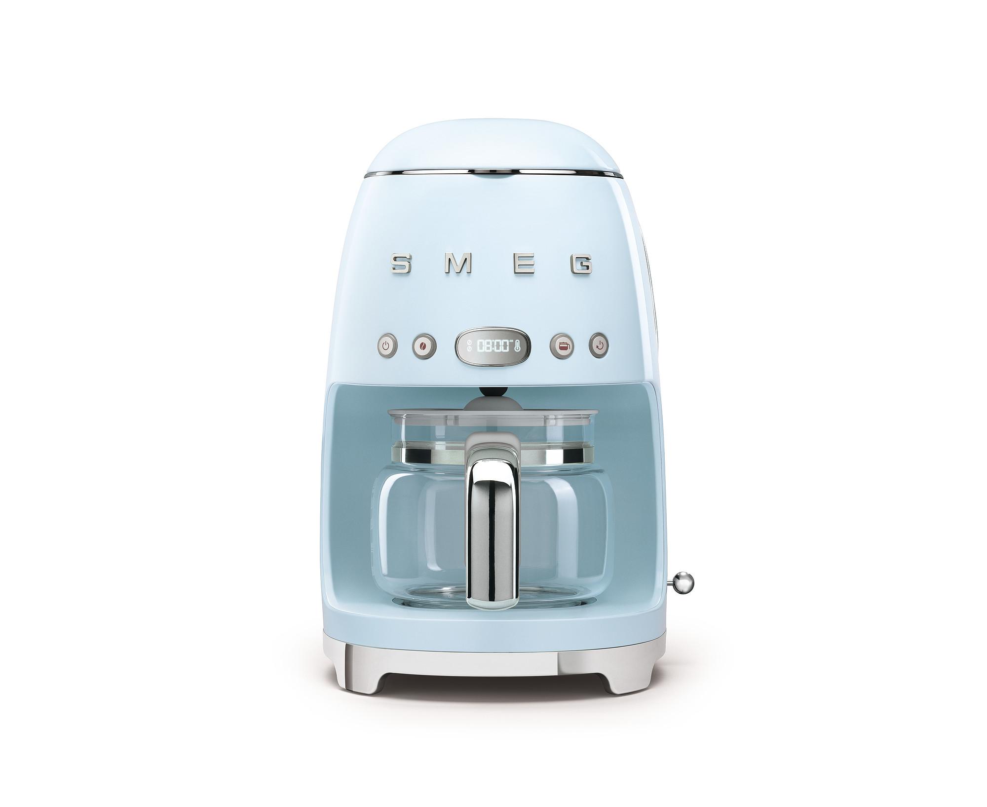 SMEG Kaffeemaschine Pastellblau