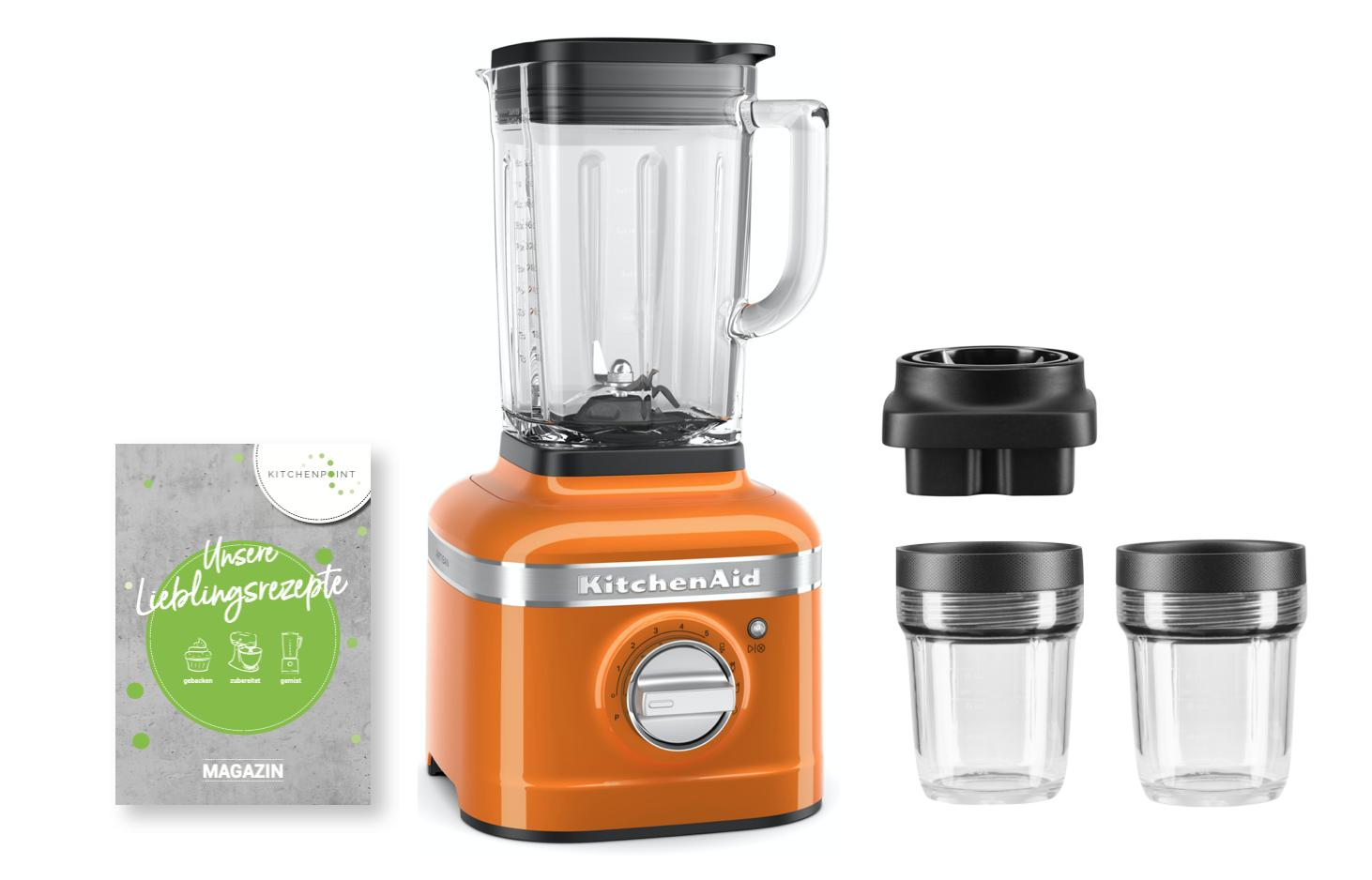 KitchenAid Blender K400 Mixbehälter Set Honey