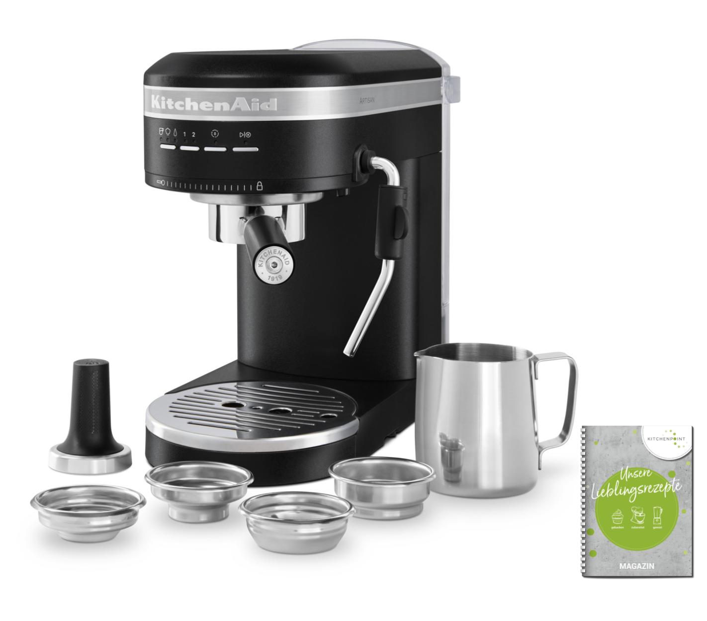 KitchenAid Espressomaschine Artisan Imperial Schwarz
