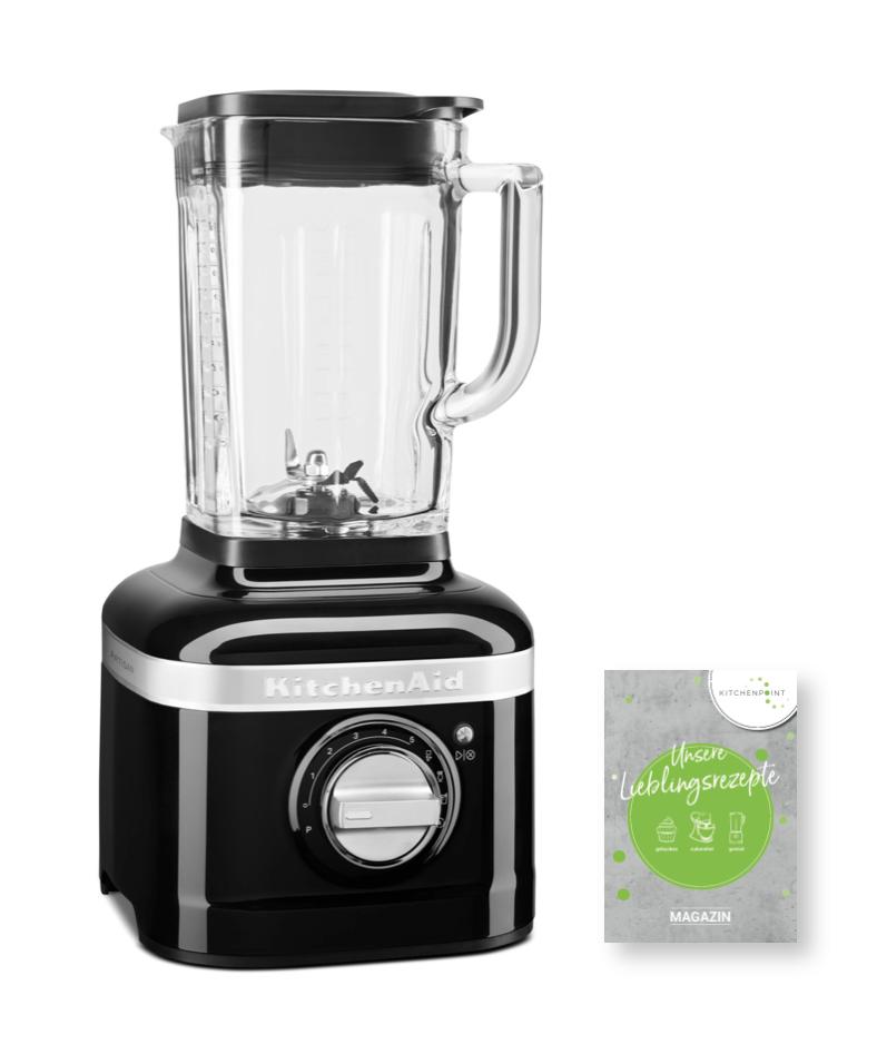 KitchenAid Artisan Blender K400 Mixer Onyx Schwarz