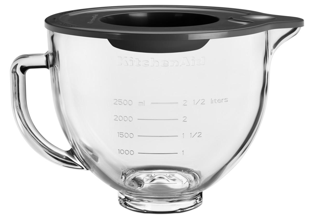 KitchenAId Glasschüssel klar 4,83l