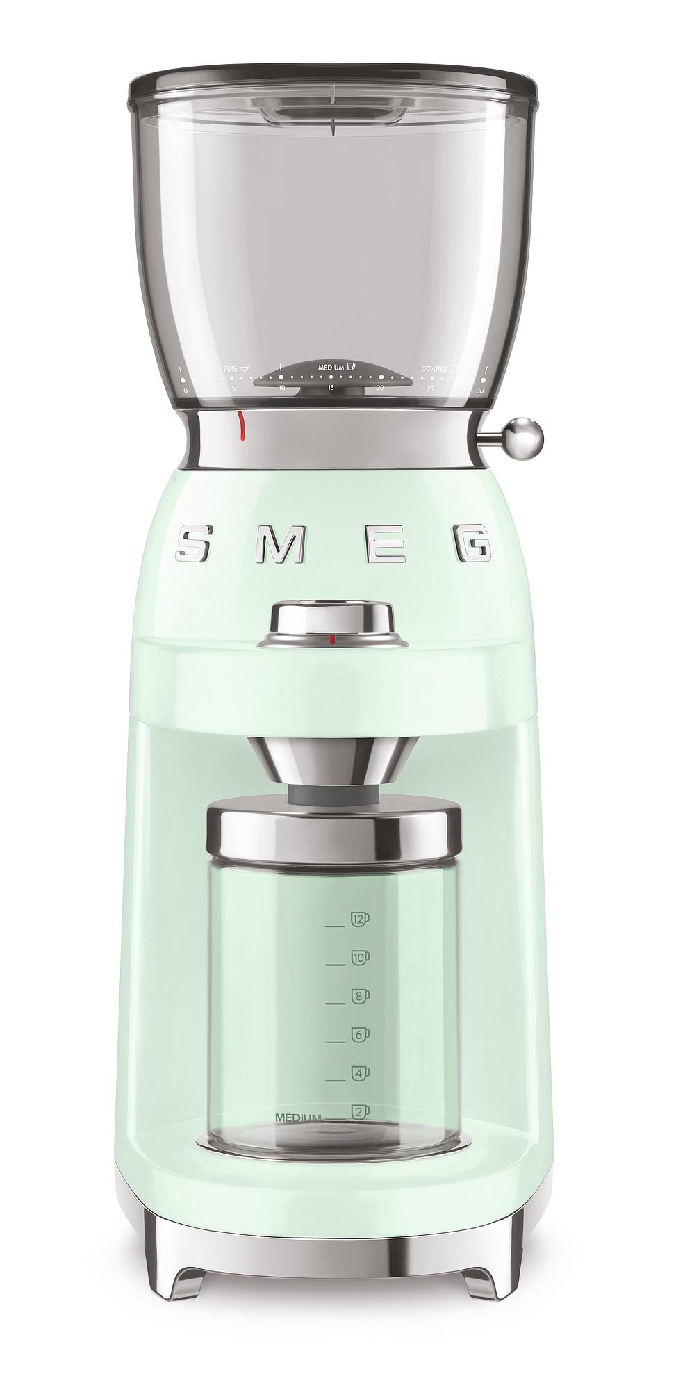 SMEG Kaffeemühle Pastellgrün