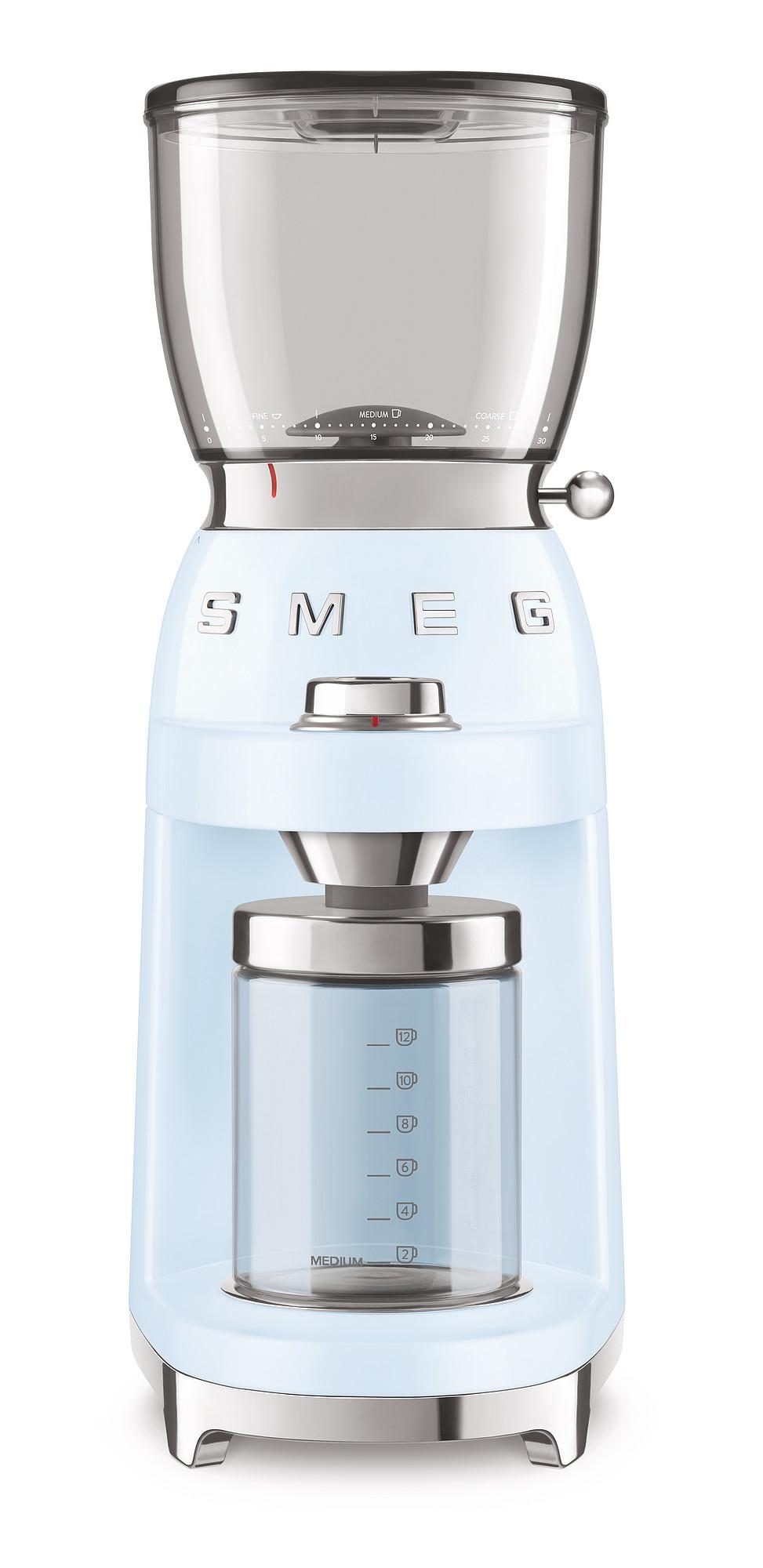 SMEG Kaffeemühle Pastellblau
