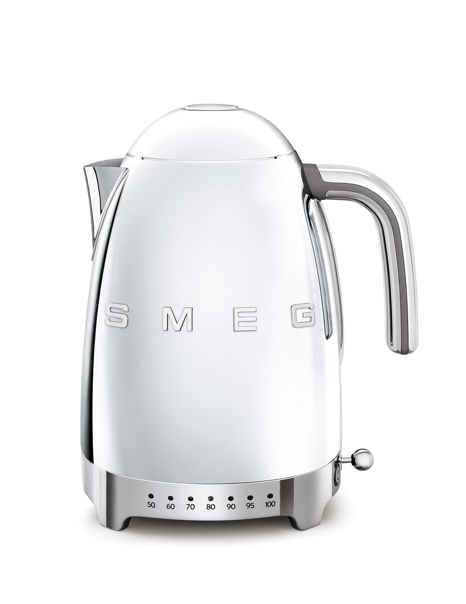 SMEG Wasserkocher Temperaturregelung Chrom