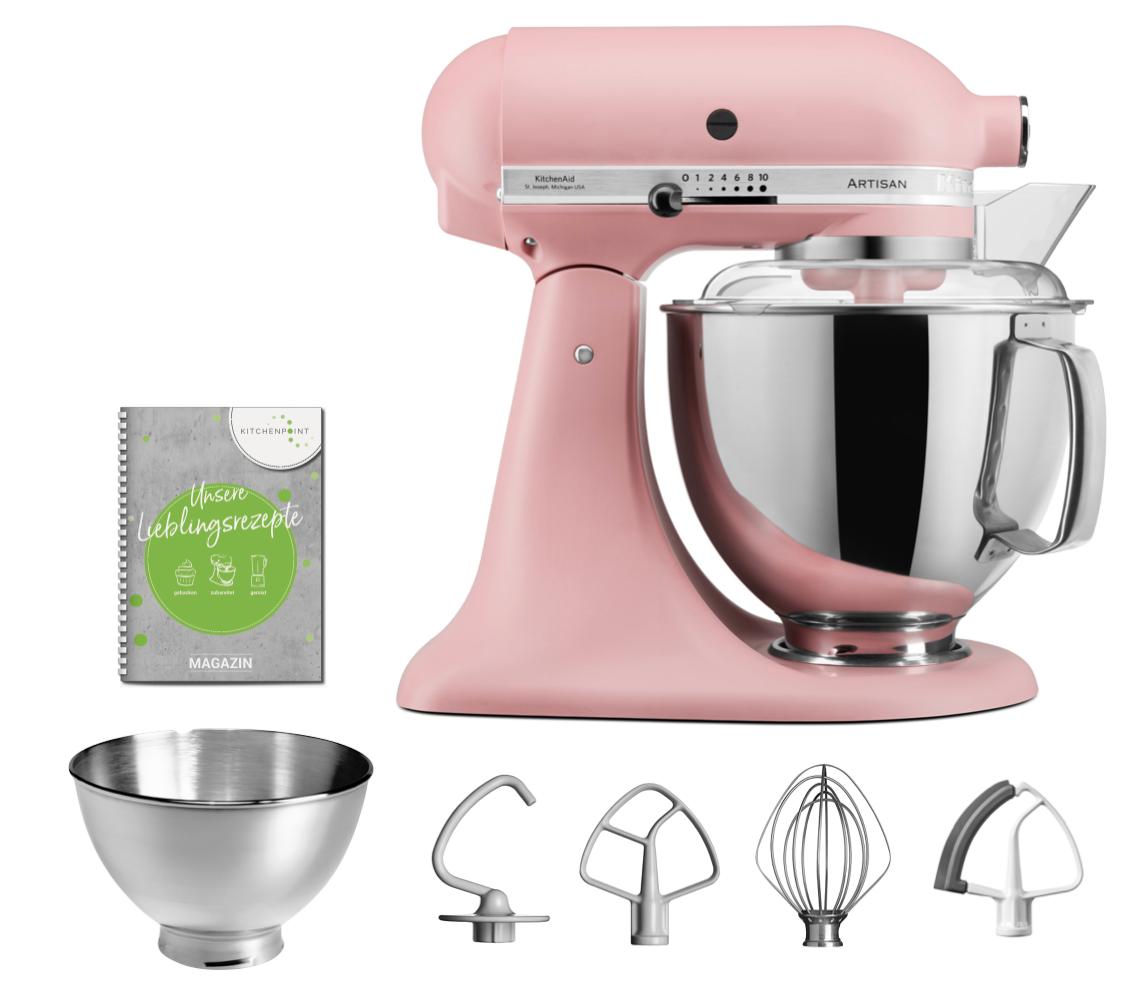 KitchenAid Küchenmaschine 175 Altrosa Pink