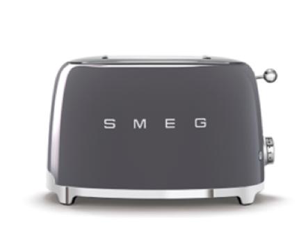 SMEG Toaster Anthrazit