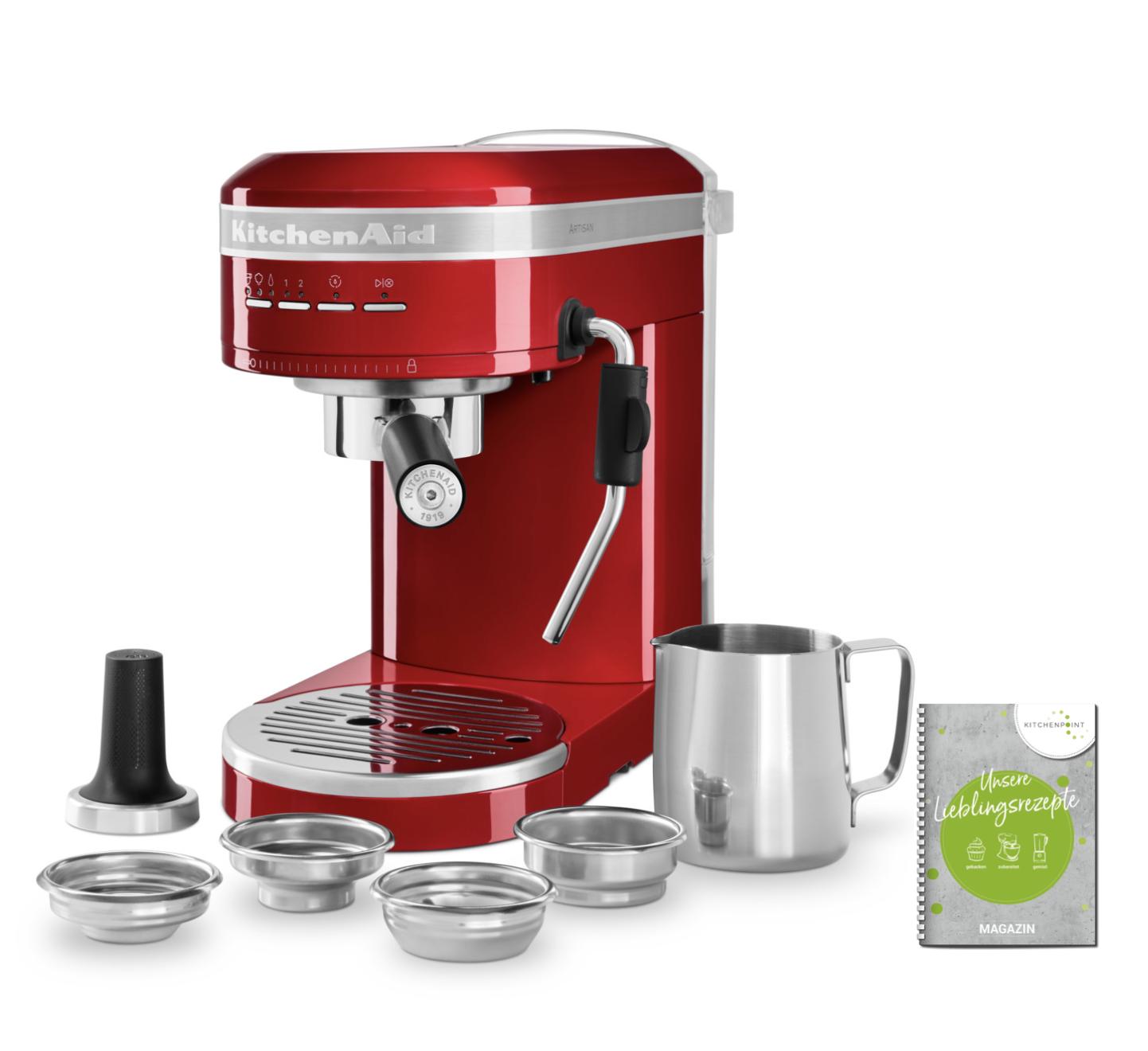 KitchenAid Espressomaschine Artisan Candy Apple