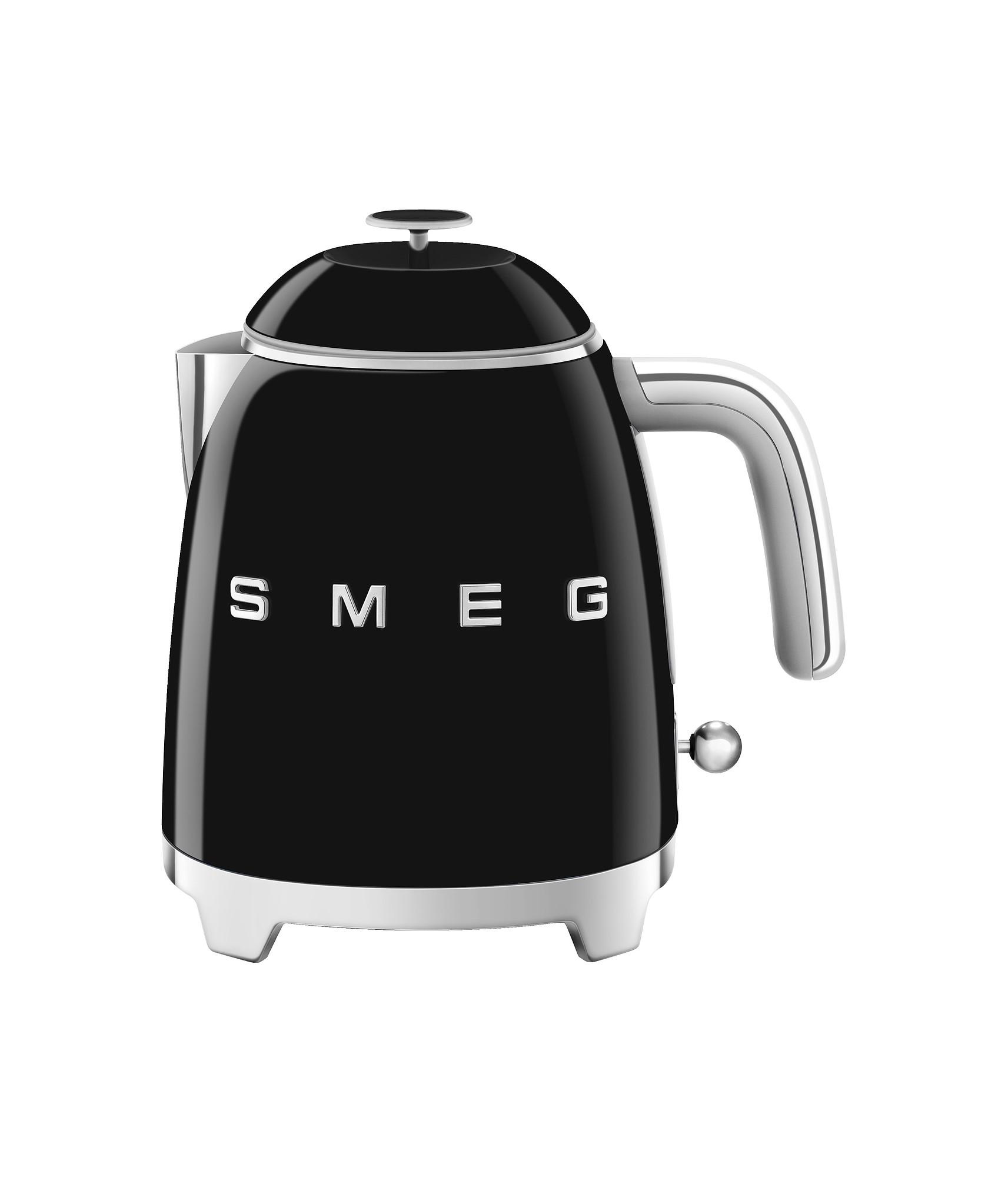 SMEG Mini Wasserkocher Schwarz
