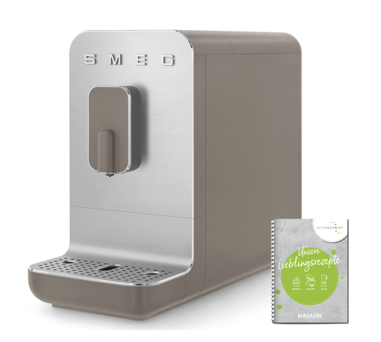Smeg Kaffeevollautomat B001 Matt taupe