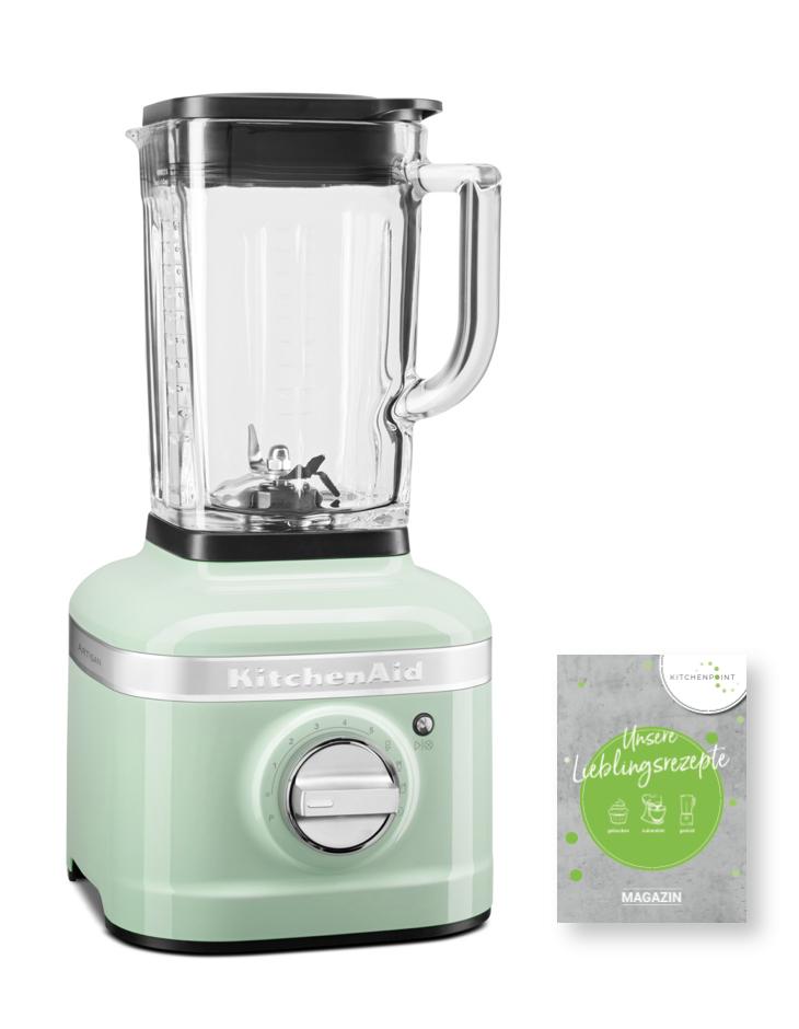 KitchenAid Artisan Blender K400 Mixer Pistazie