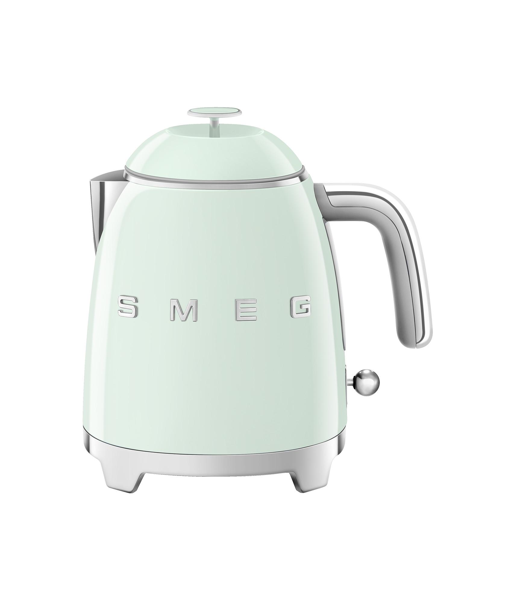 SMEG Mini Wasserkocher Pastellgrün