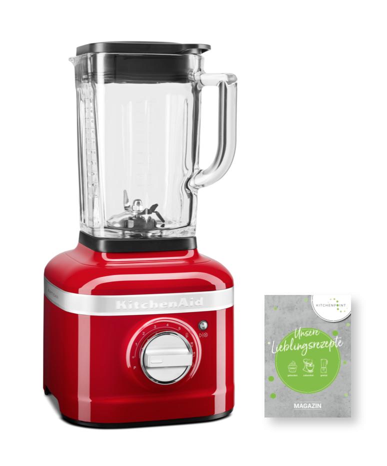 KitchenAid Artisan Blender K400 Mixer Empire Rot