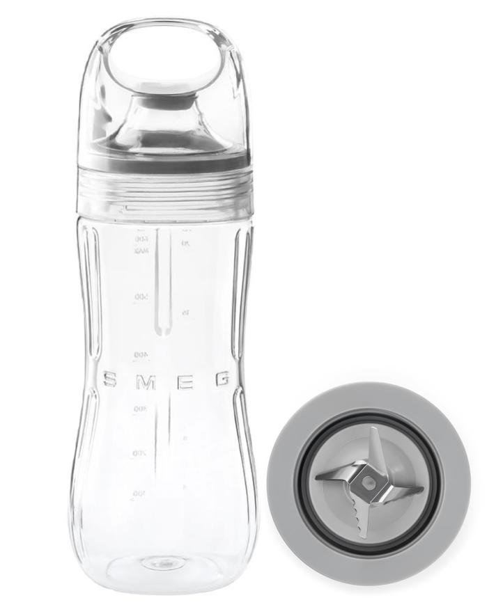 SMEG Bottle to go mit Klinge