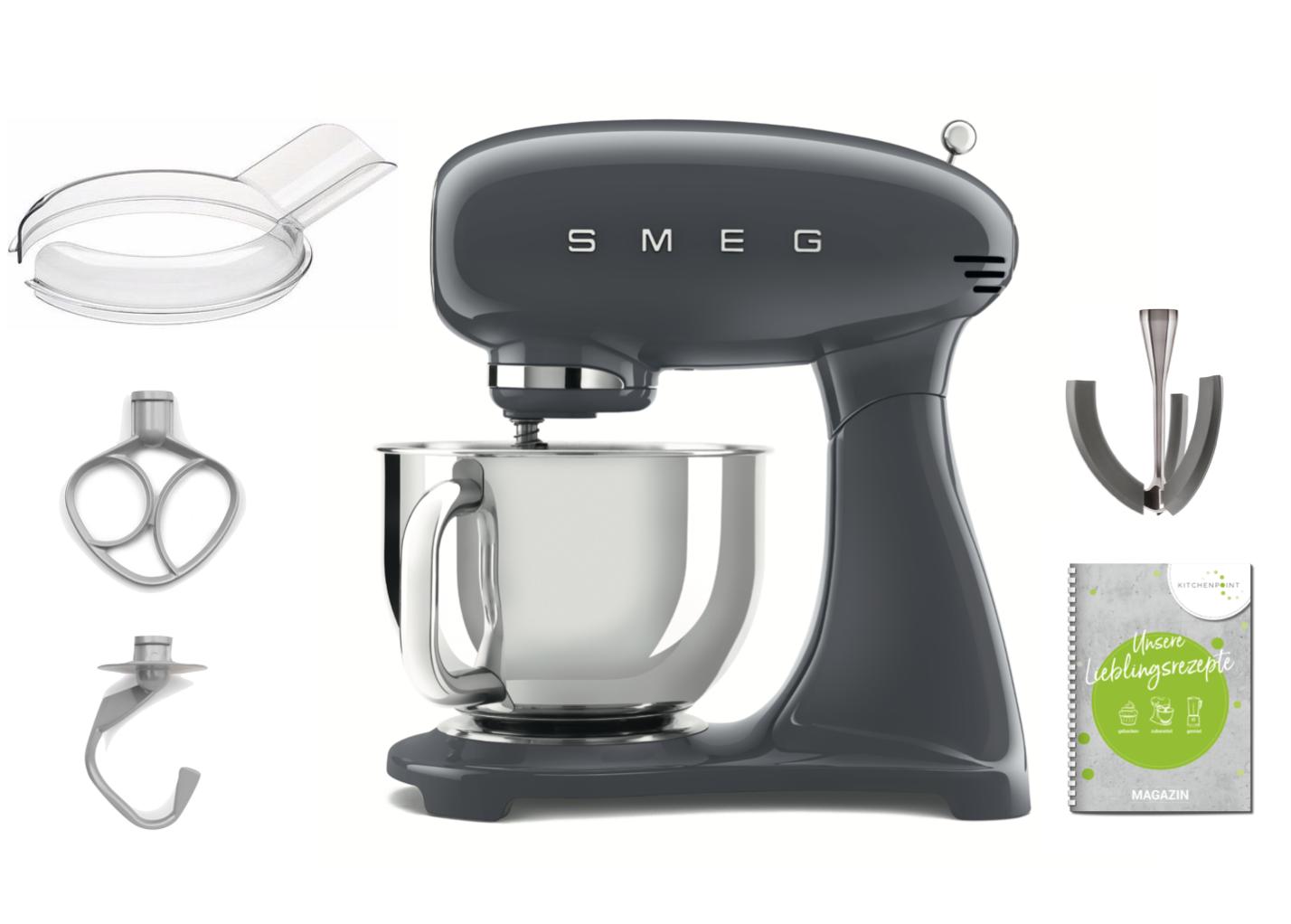 SMEG Küchenmaschine Anthrazit-grau