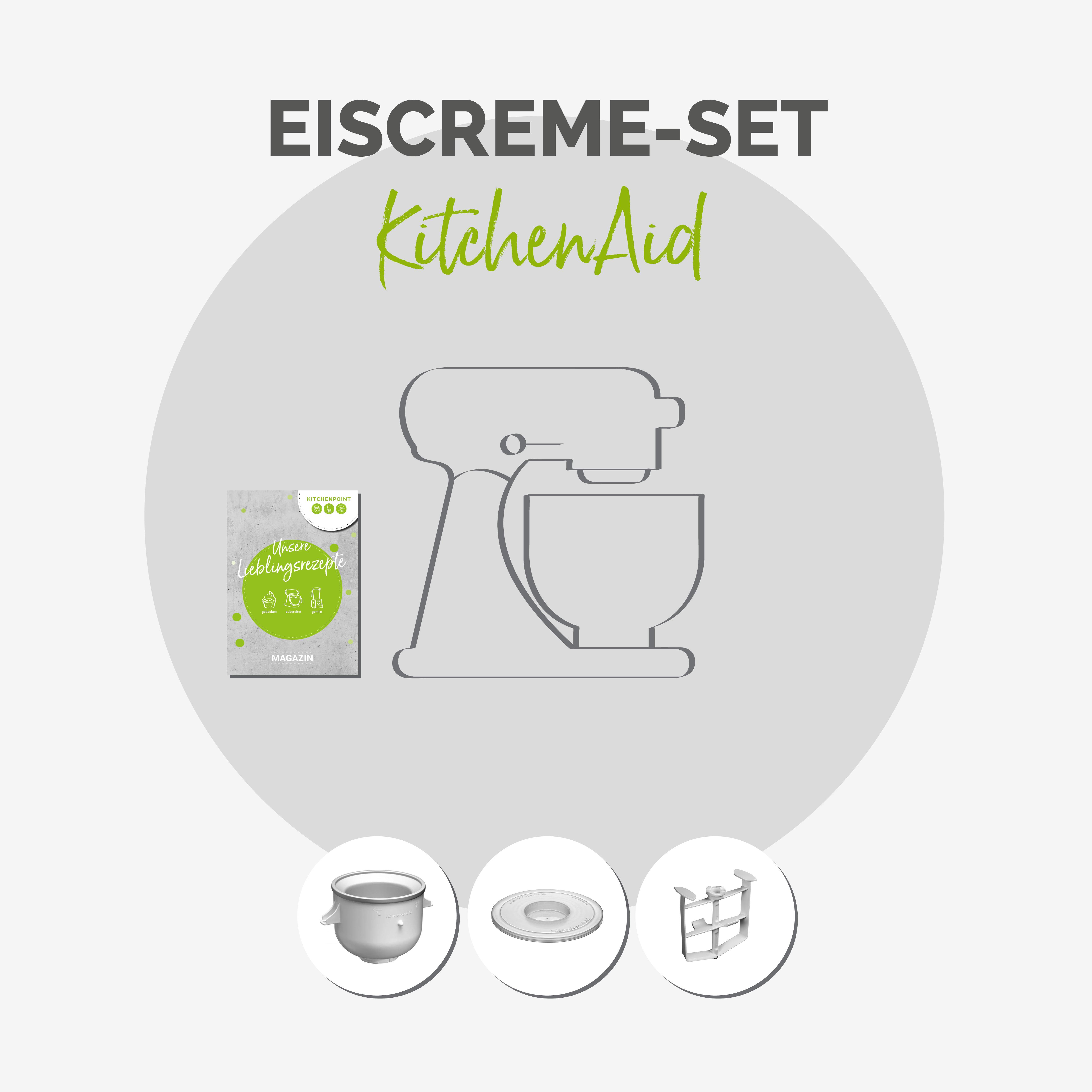 KitchenAid Küchenmaschine 175 - Eis Set Pistazie
