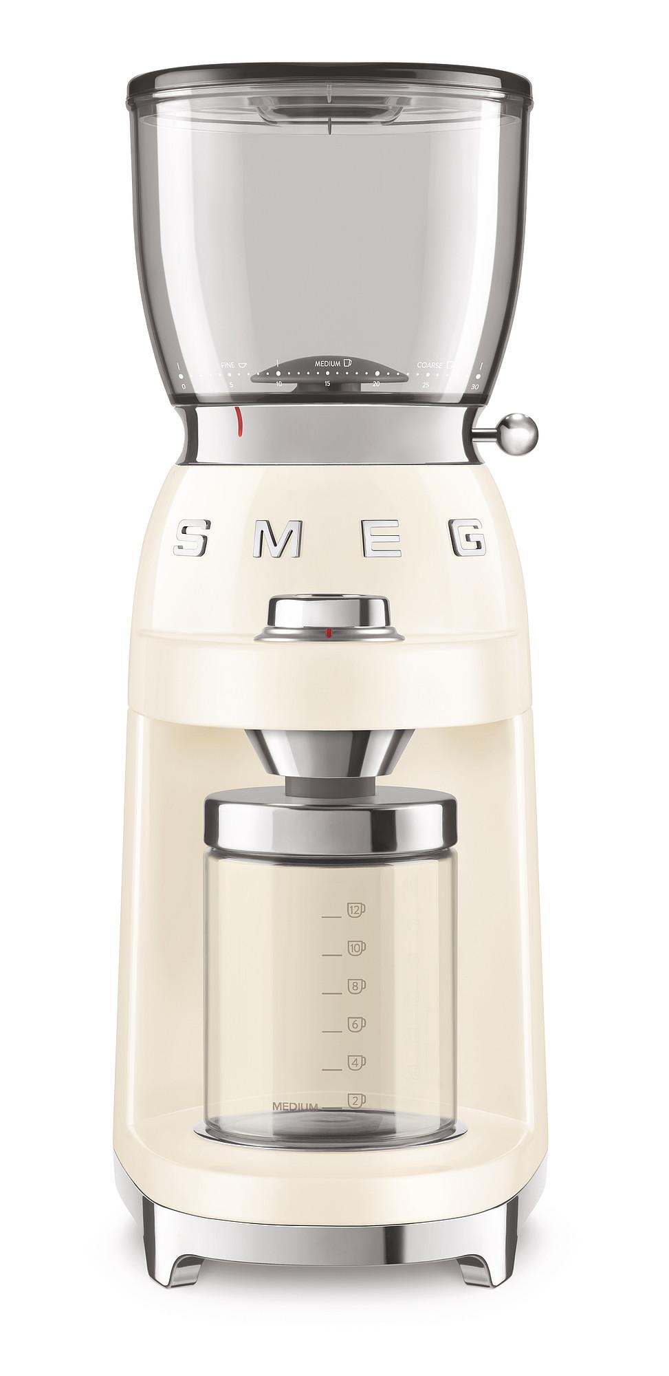 SMEG Kaffeemühle creme