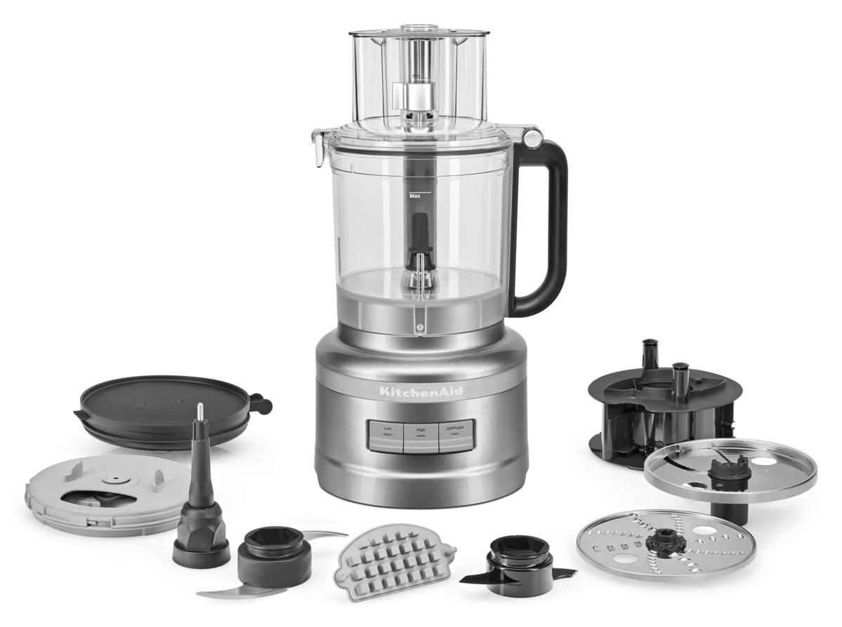 KitchenAid FoodProcessor 3,1 L  Kontur Silber