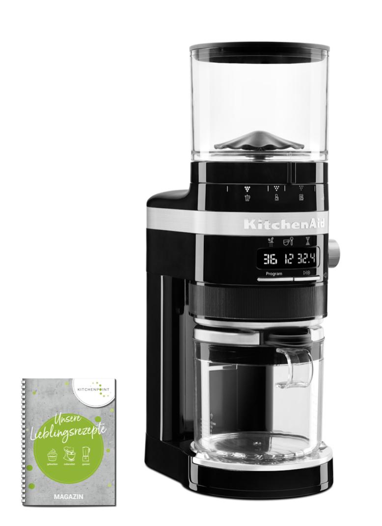 KitchenAid Kaffeemühle Onyx Schwarz