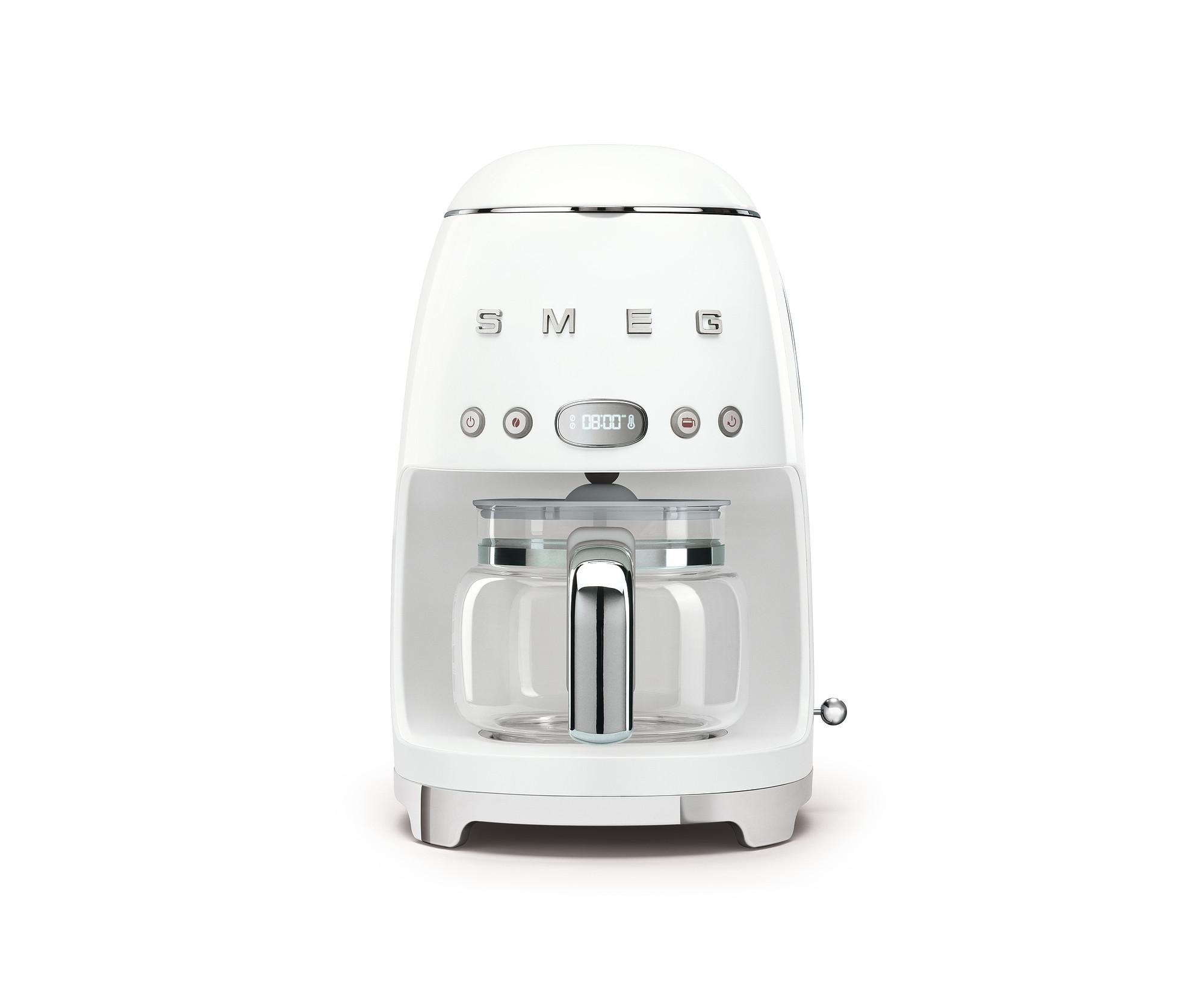 SMEG Kaffeemaschine Weiß