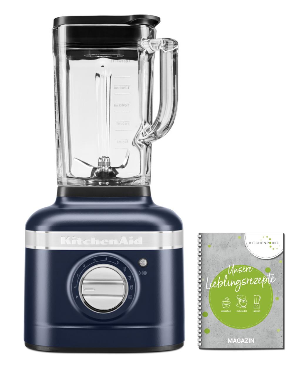 KitchenAid Artisan Blender K400 Mixer Tintenblau