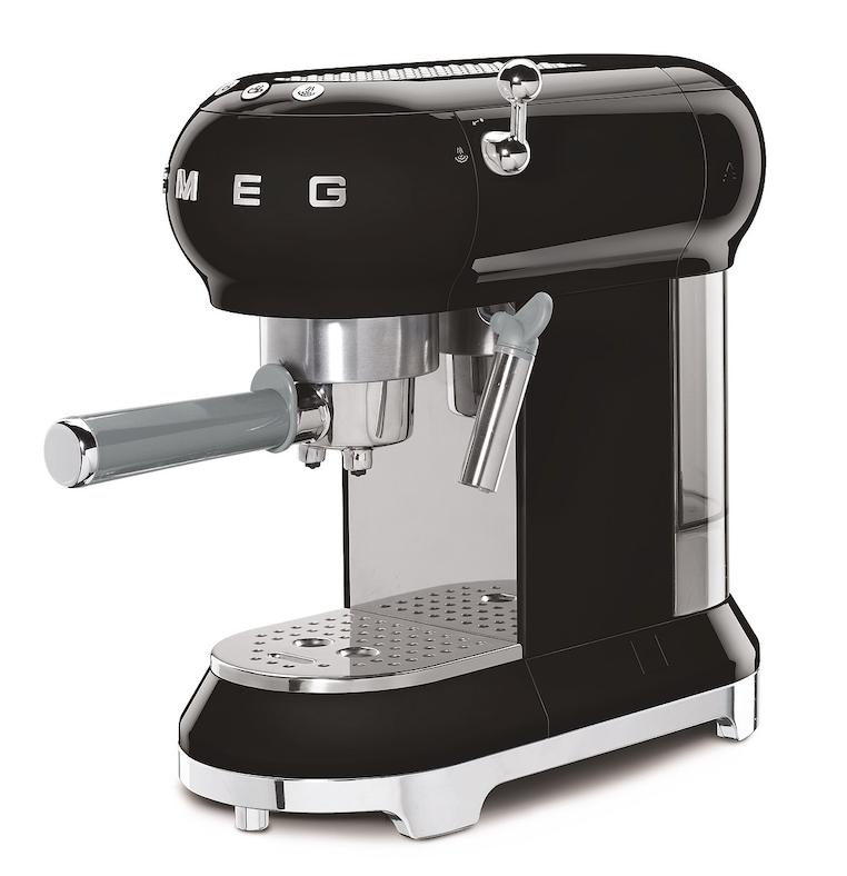 SMEG Espressomaschine Schwarz