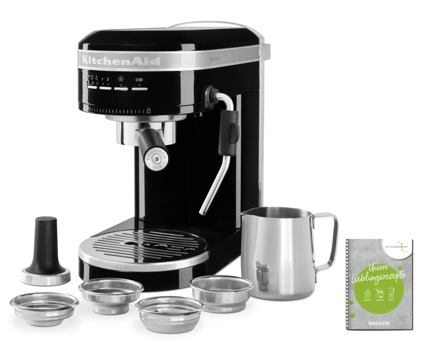 KitchenAid Espressomaschine Artisan Onyx Schwarz