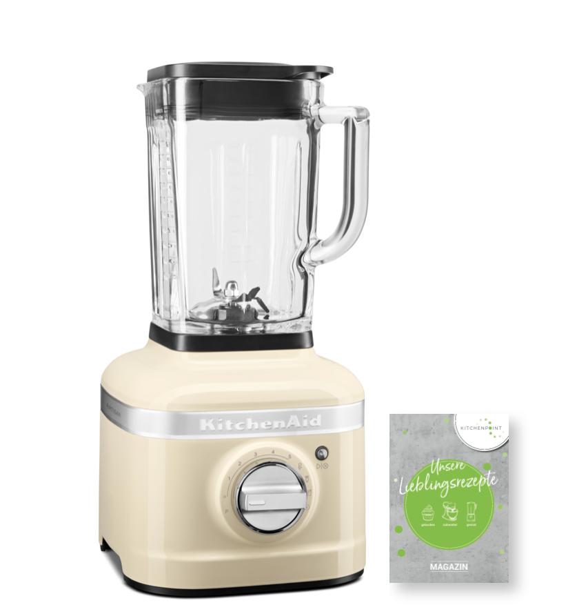 KitchenAid Artisan Blender K400 Mixer Creme