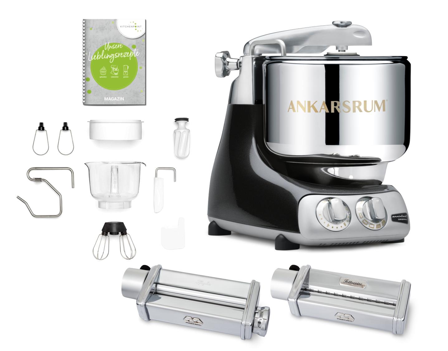 Ankarsrum Küchenmaschine Assistent Black Diamond - Pasta Set