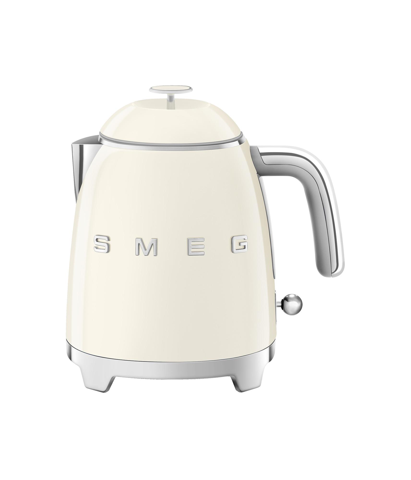 SMEG Mini Wasserkocher Creme