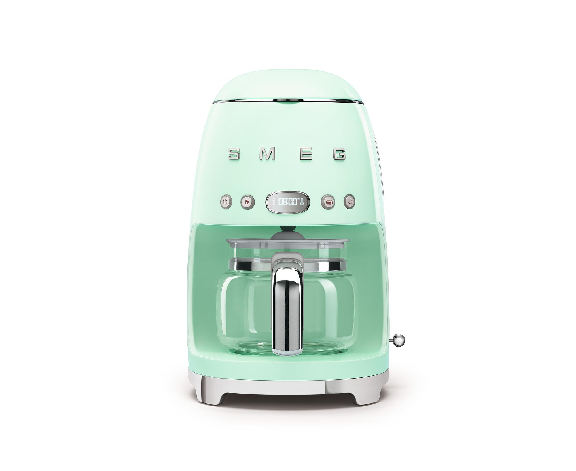 SMEG Kaffeemaschine Pastellgrün