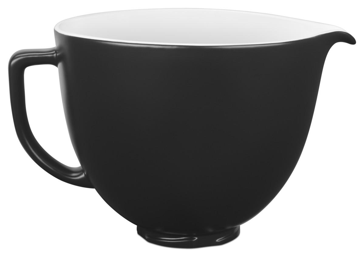 KitchenAid Keramikschüssel glatt schwarz