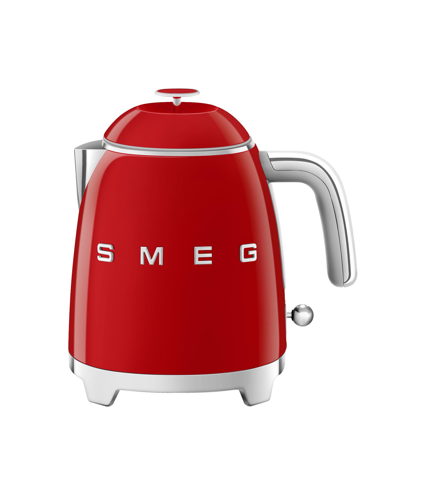 SMEG Mini Wasserkocher Rot