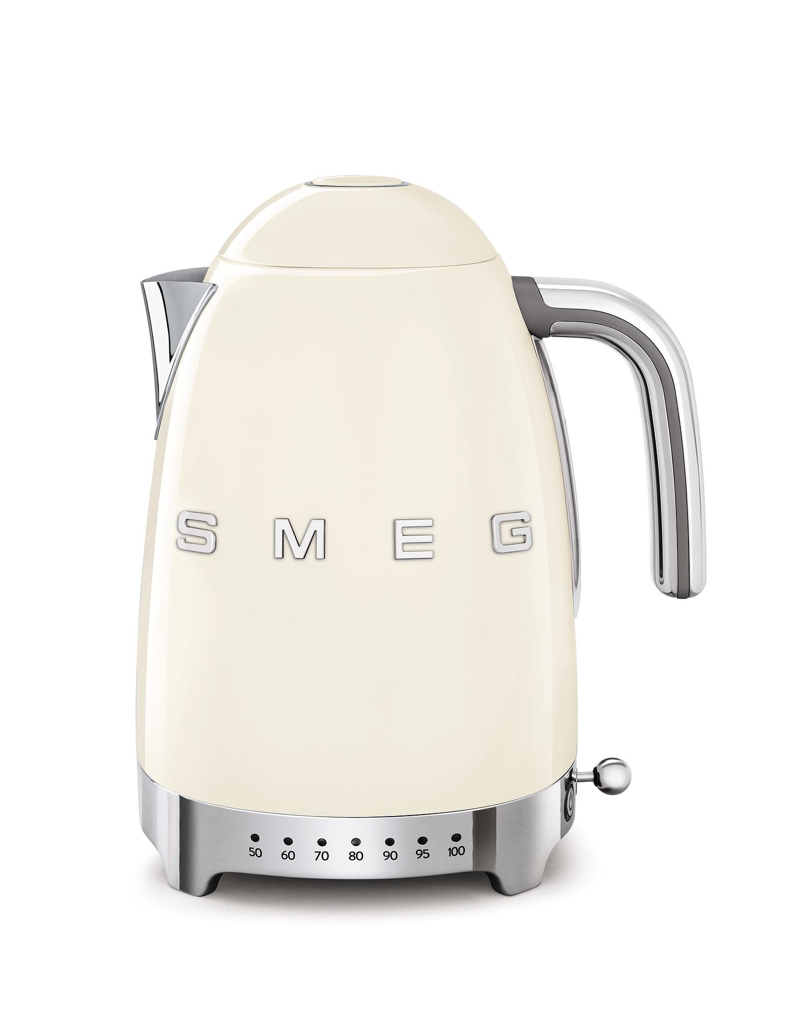SMEG Wasserkocher Temperaturregelung creme