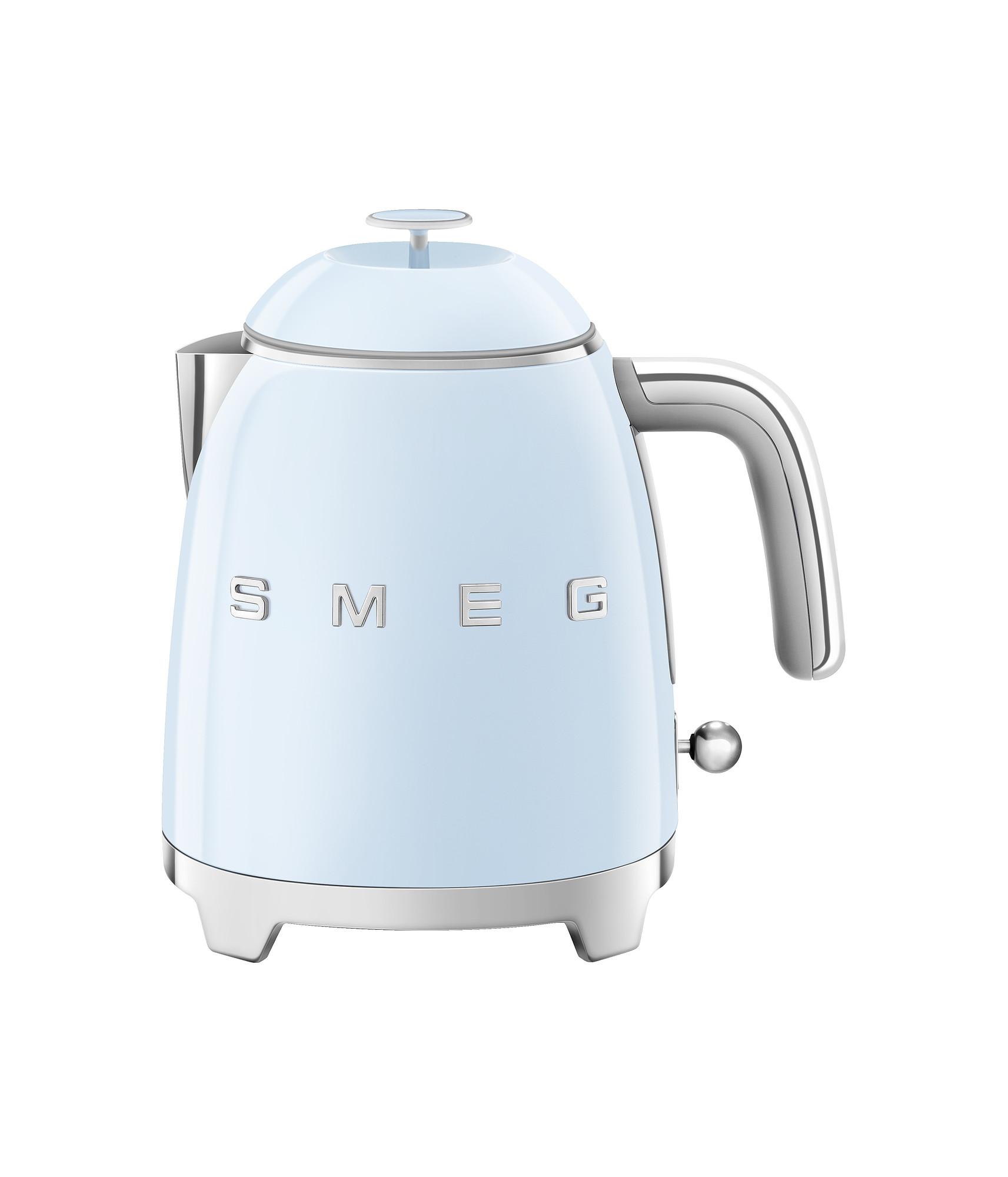 SMEG Mini Wasserkocher Pastellblau
