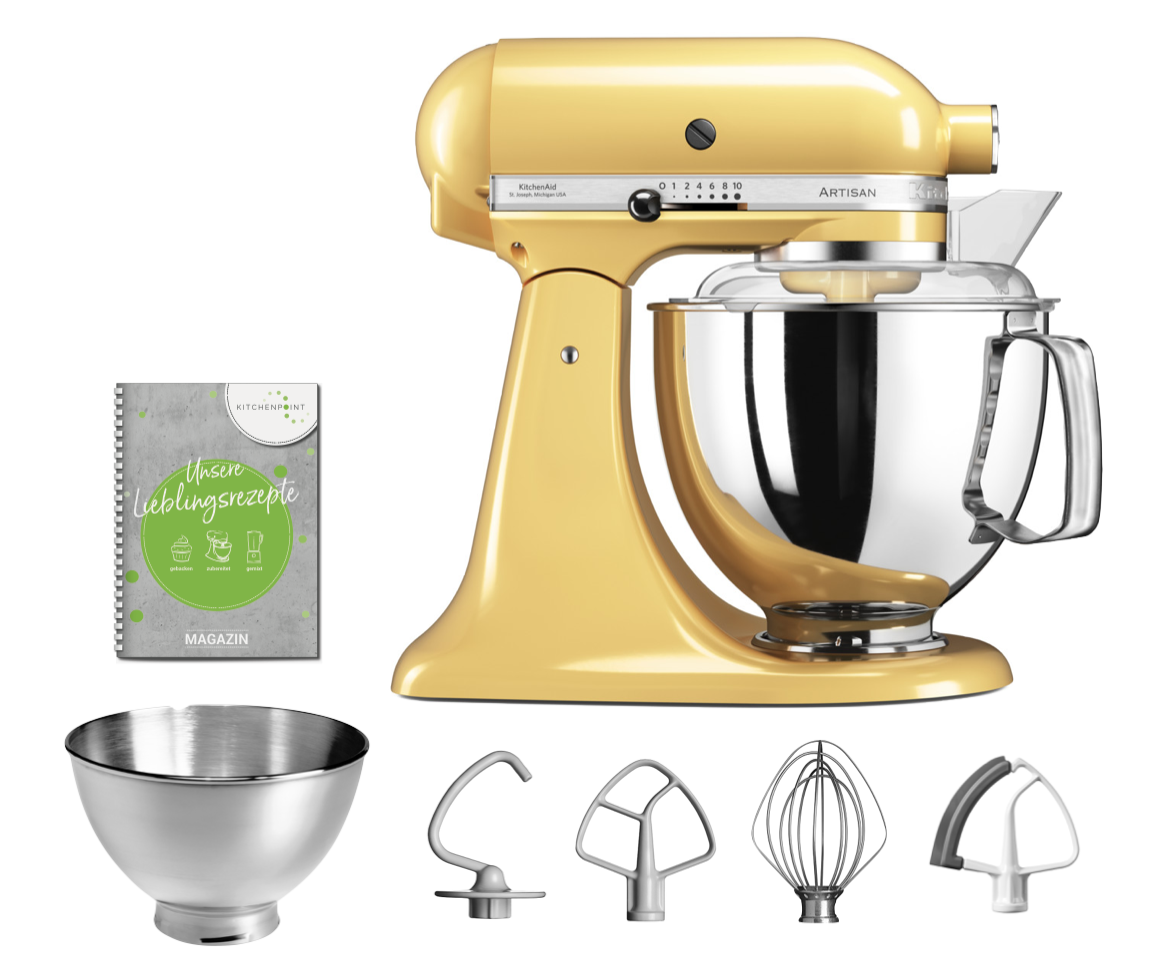KitchenAid Küchenmaschine 175 Pastell Gelb