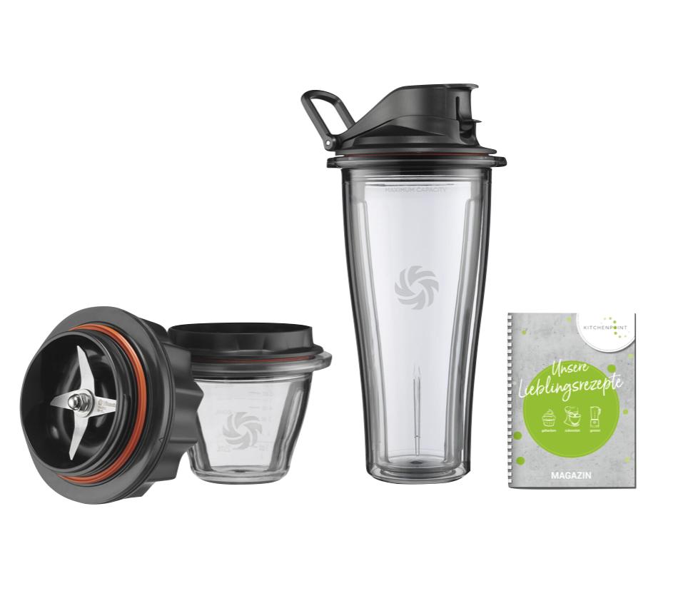 Vitamix Ascent Starter Paket Mixbehälter 0,6l - 225 ml inkl. Klinge