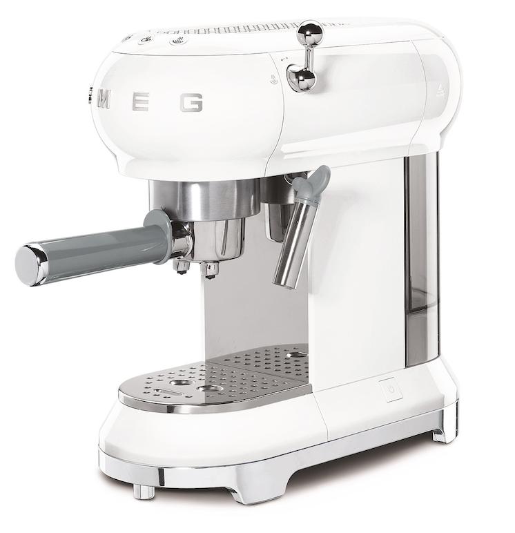 SMEG Espressomaschine Weiß