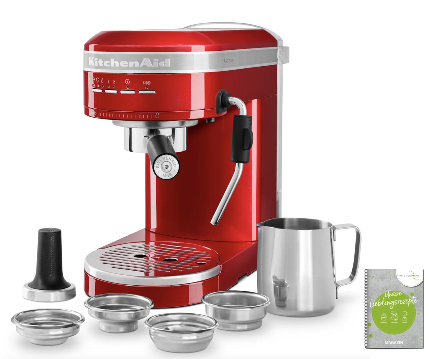 KitchenAid Espressomaschine Artisan Empire Rot