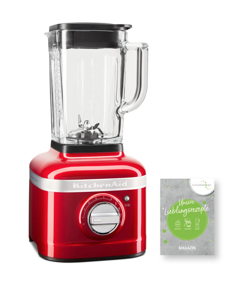 KitchenAid Artisan Blender K400 Mixer Candy Apple