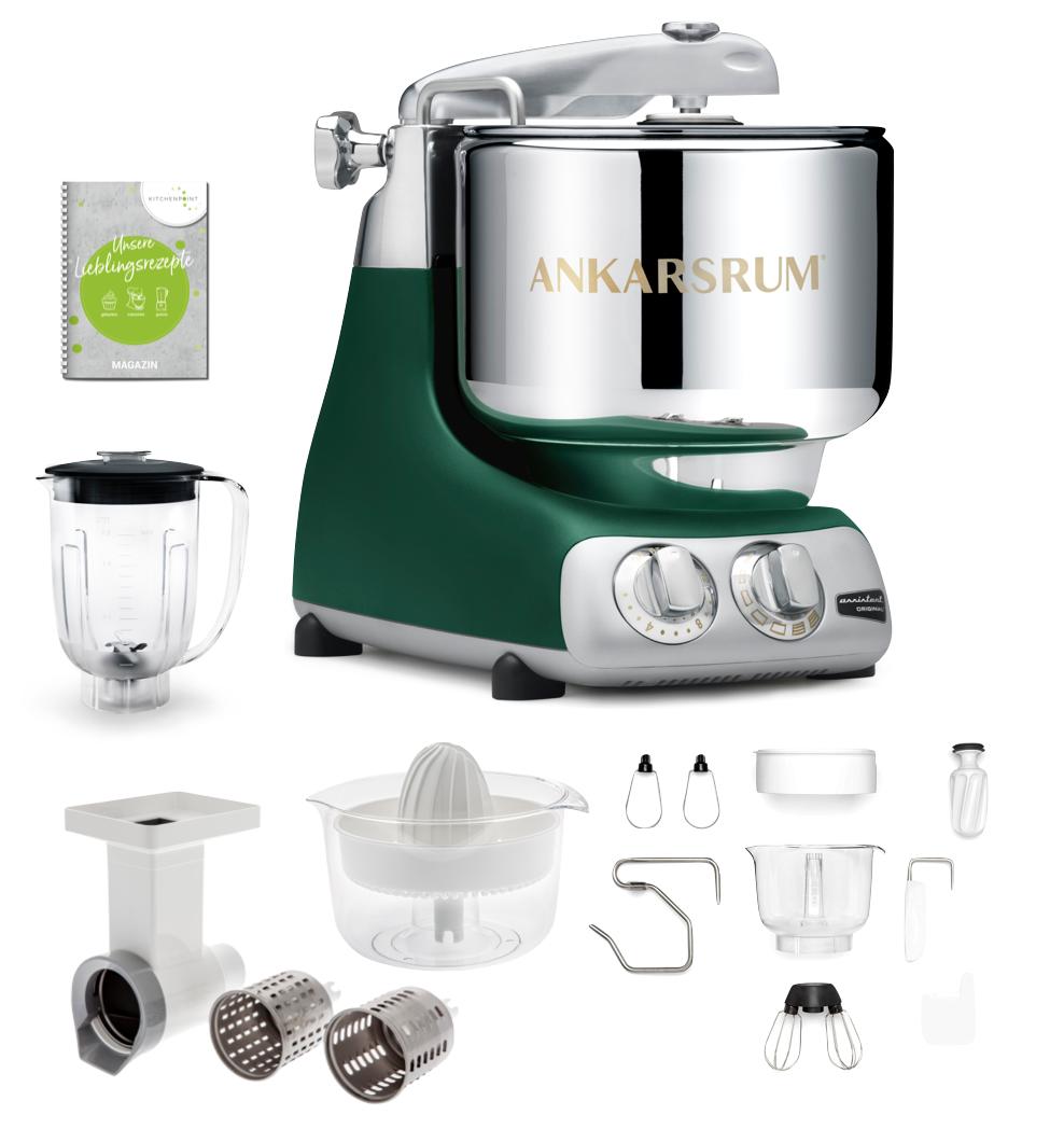 Ankarsrum Küchenmaschine Forest Grün - Go Green Set