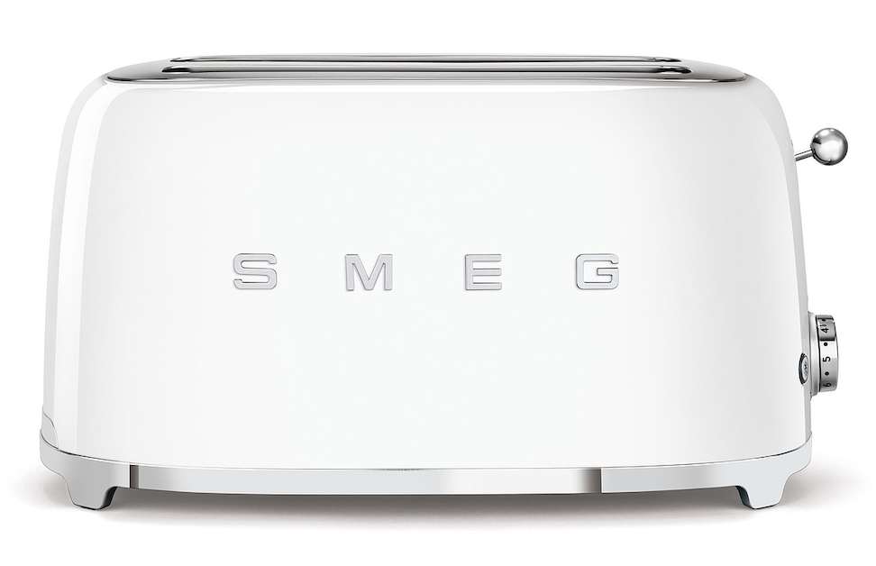 SMEG Toaster lang weiß