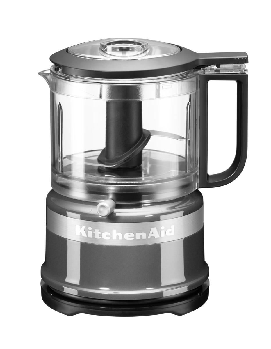 KitchenAid Mini Foodprocessor Zerhacker Silber
